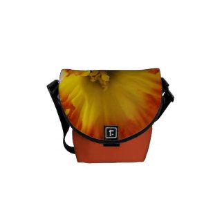 Orange and Yellow Daffodil Mini Messenger Bag