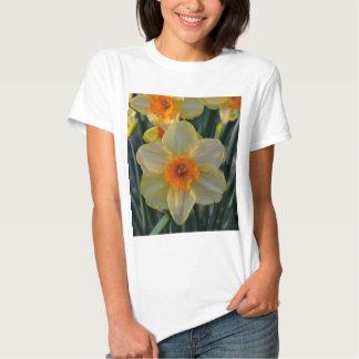 Orange and Yellow Daffodils Shirt