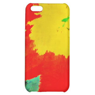 Orange and Yellow Flower Case For iPhone 5C