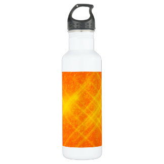 Orange and Yellow Sparkles Liberty Bottle 24oz Water Bottle