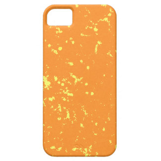 Orange and yellow specks iPhone 5 covers