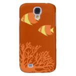 Orange and Yellow Tropical Angelfish Galaxy S4 Case