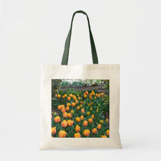 Orange and Yellow Tulips,Bag Tote Bag