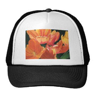 Orange and Yellow Tulips Hat