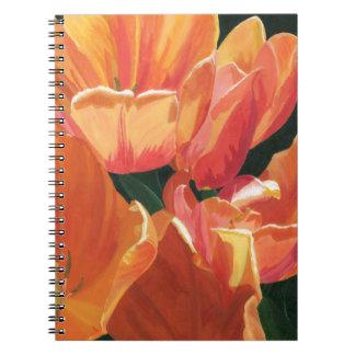 Orange and Yellow Tulips Notebook
