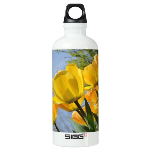 Orange and Yellow Tulips Reach for the Sun SIGG Traveler 0.6L Water Bottle