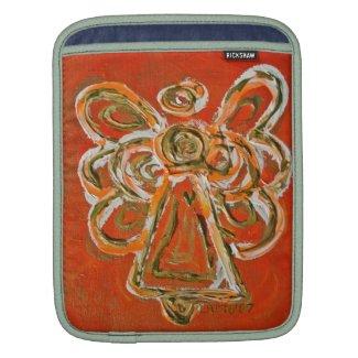 Orange Angel Art Painting iPad Computer Sleeves