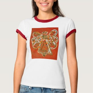 Orange Angel T-shirt (Image on Front)