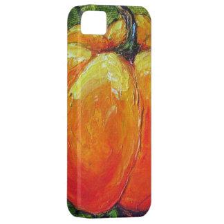 Orange Autumn Pumpkin iPhone 5 Case