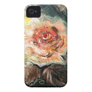 Orange Autumn Rose Case-Mate iPhone 4 Case