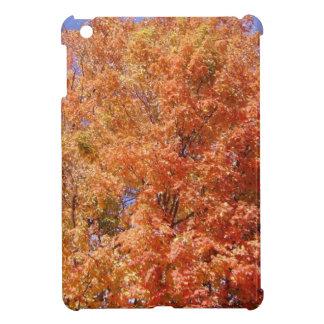 Orange Autumn Trees iPad Mini Cover
