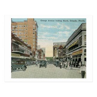 Orange Ave., Orlando, Florida Vintage Postcard