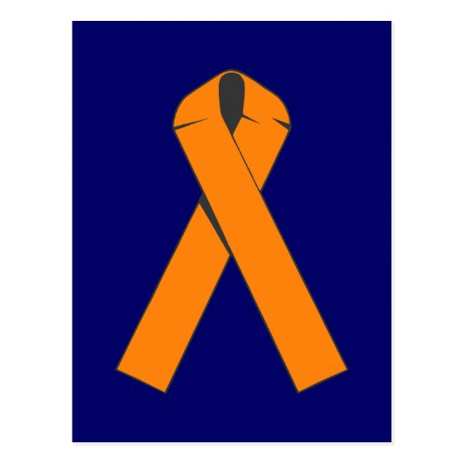 Orange Awareness Ribbon Products Post Card