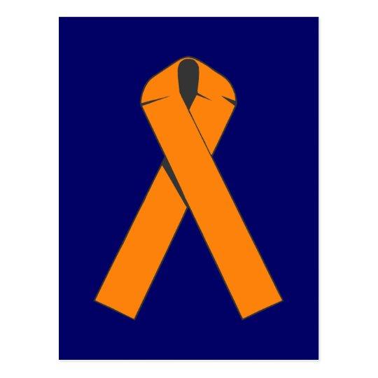 Orange Awareness Ribbon Products Postcard