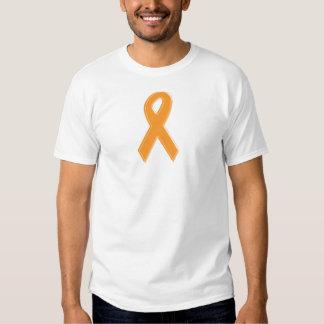 Orange Awareness Ribbon Shirt