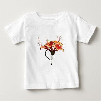 Orange Azaleas Kids Baby T-Shirt