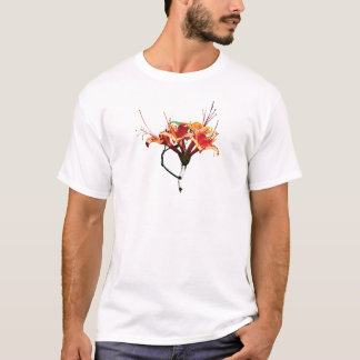 Orange Azaleas Mens T-Shirt