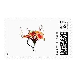 Orange Azaleas Postage