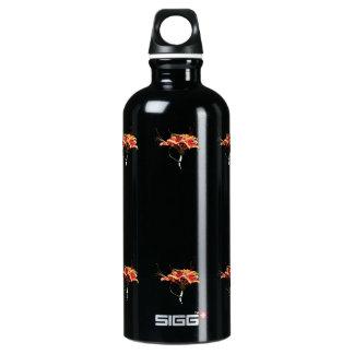 Orange Azaleas Water Bottle