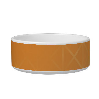 Orange Background. Abstract Misty Grid Design. Bowl