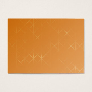 Orange Background. Abstract Misty Grid Design. Business Card