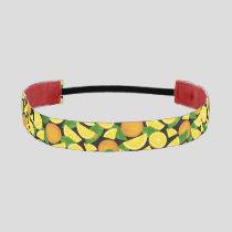 Orange Background Athletic Headband