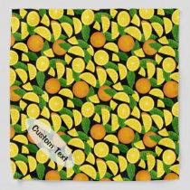 Orange Background Bandana