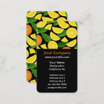 Orange Background Business Card