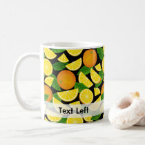 Orange Background Coffee Mug