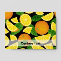 Orange Background Envelope