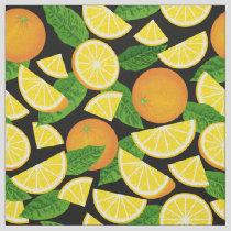Orange Background Fabric