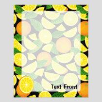 Orange Background Flyer