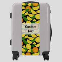 Orange Background Luggage