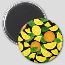 Orange Background Magnet