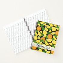 Orange Background Notebook