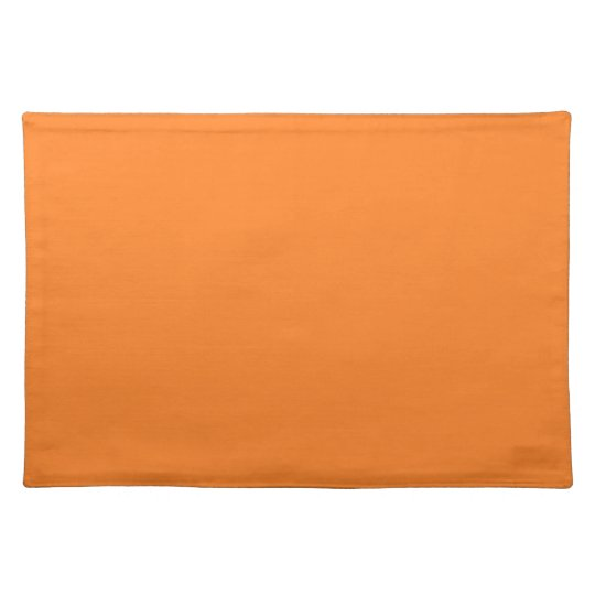 Orange Background on a Placemat