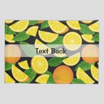 Orange Background Pillow Case