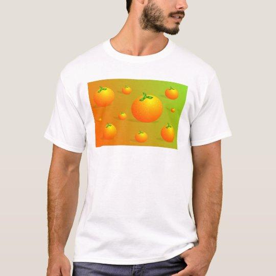 Orange Background T-Shirt