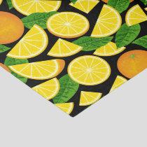 Orange Background Tissue Paper