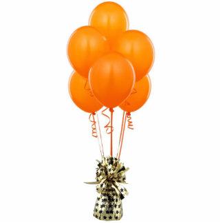 Orange Balloons Pin Photo Statuette