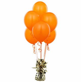 Orange Balloons Sculpture