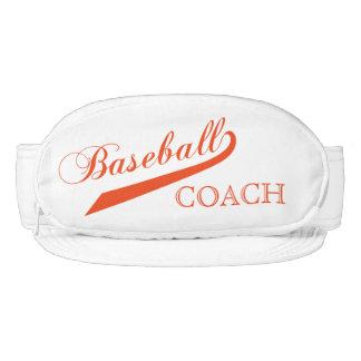 Orange Baseball Coach Visor