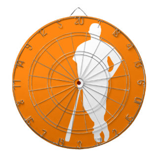 Orange Baseball Dartboards