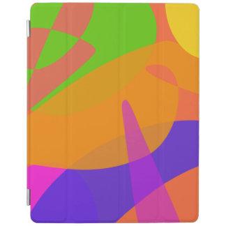 Orange Based Abstract Art iPad Cover