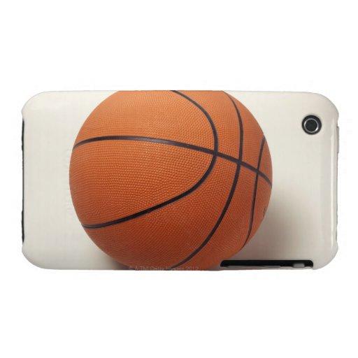 Orange basketball, close-up iPhone 3 Case-Mate cases