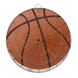 Orange Basketball Dart Board