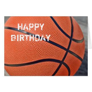happy birthday basketball cards greeting cards  zazzle, Birthday card