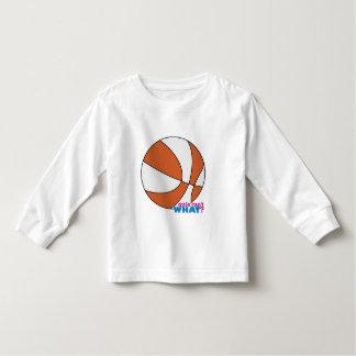 Orange Basketball Toddler T-shirt