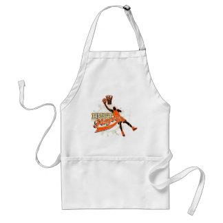 Orange Basketball Tshirts and Gifts Adult Apron