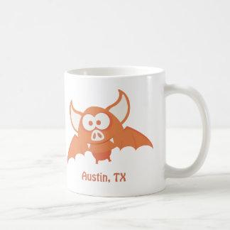 Orange Bat - Austin, TX Coffee Mug